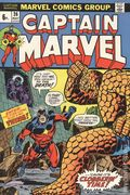 Captain Marvel (1968 1st Series Marvel) UK Edition 26UK