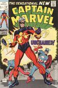 Captain Marvel (1968 1st Series Marvel) UK Edition 17UK