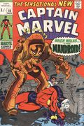 Captain Marvel (1968 1st Series Marvel) UK Edition 18UK
