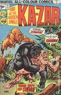 Ka-Zar (1974) UK Edition 10UK