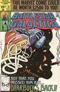 Battlestar Galactica (1979 Marvel) UK Edition 19UK