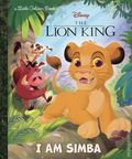 Disney The Lion King I Am Simba HC (2019 A Little Golden Book) 1-1ST