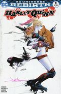 Harley Quinn (2016) 1DF.A.SIGNED