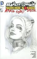 Harley Quinn and the Suicide Squad April Fool's Special (2016) 1BSKETCH
