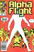 Alpha Flight (1983 1st Series) Canadian Price Variant 25