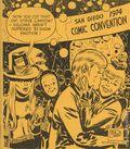 San Diego Comic Convention Program SC (1970-1996 Comic Con International) 1974-1ST
