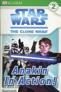 Star Wars The Clone Wars Anakin in Action TPB (2008 DK Publishing) 1-1ST