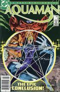 Aquaman (1986 1st Limited Series) Canadian Price Variant 4