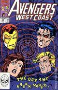 Avengers West Coast (1985) Mark Jewelers 58MJ