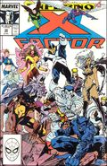 X-Factor (1986 1st Series) Mark Jewelers 39MJ