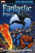Fantastic Four The Mystery of the Black Panther TPB (2019 Marvel) Epic Collection 1-1ST