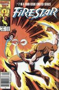 Firestar (1986 Marvel) Canadian Price Variant 2