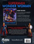 Superman/Wonder Woman HC (2019 Hero Collector) Special Edition Collector's Guide with Two Figurines SET-1