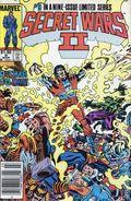 Secret Wars II (1985 Marvel) Canadian Price Variant 9