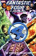 Fantastic Four TPB (2018 Marvel) The Complete Collection By Jonathan Hickman 2-1ST