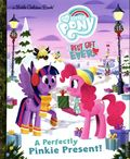 My Little Pony Best Gift Ever: A Perfectly Pinkie Present! HC (2019 RH) A Little Golden Book 1-1ST