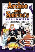 Archie and Sabrina's Halloween Coloring Book SC (2019 Archie) 1-1ST