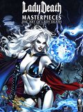 Lady Death Masterpieces The Art of Lady Death HC (2019 Coffin Comics) 1-1ST