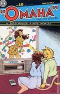 Omaha the Cat Dancer (1986 Kitchen Sink/Fantagraphics) 10REP