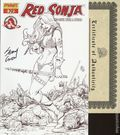 Red Sonja (2005 Dynamite) 19E.DF.SIGNED