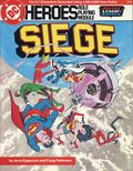DC Heroes Role Playing Module Siege (1985 Mayfair) 0