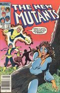 New Mutants (1983 1st Series) Mark Jewelers 13MJ