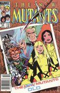 New Mutants (1983 1st Series) Mark Jewelers 32MJ