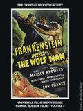 Frankenstein Meets the Wolf Man The Original Shooting Script HC (2019 BearManor Media) 1-1ST