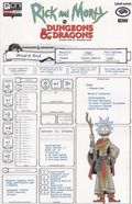 Rick and Morty vs. Dungeons and Dragons II Painscape (2019 Oni Press) 1D
