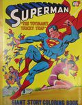 Superman The Toyman's Tricky Trap (1978 Parkes Run) Giant Story Coloring Book 1978