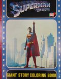 Superman The Movie (1978 Parkes Run) Giant Story Coloring Book 1978
