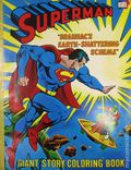 Superman Brainiac's Earth-Shattering Scheme (1978 Parkes Run) Giant Story Coloring Book 1978