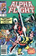 Alpha Flight (1983 1st Series) Canadian Price Variant 17
