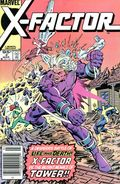 X-Factor (1986 1st Series) Canadian Price Variant 2