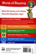 World of Reading: Star Wars Galaxy of Adventure Heroes and Villains SC (2019 Marvel Press) Level 2 1-1ST