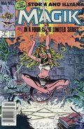 Magik (1983 Marvel) Canadian Price Variant 4