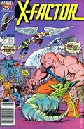 X-Factor (1986 1st Series) Canadian Price Variant 7