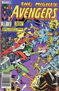 Avengers (1963 1st Series) Canadian Price Variant 246