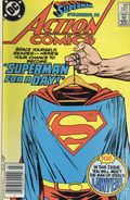 Action Comics (1938 DC) Canadian Price Variant 581