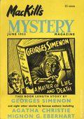 MacKill's Mystery Magazine (1952-1954 Todd Publishing) US Edition Vol. 2 #3