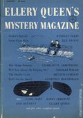 Ellery Queen's Mystery Magazine (1955-1959 Davis-Dell) Text Only Edition Vol. 27 #1