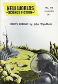 New Worlds Science Fiction (Nova Publications UK) Vol. 24 #72