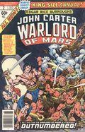 John Carter Warlord of Mars (1977 Marvel) Annual 2