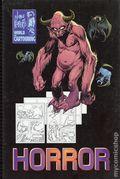 Joe Kubert's World of Cartooning Horror HC (1998 Tell-A-Graphics) 1-1ST