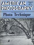 American Photography Magazine (1907 American Photographic Publishing Co.) Feb 1942