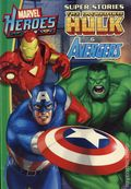 Marvel Heroes Super Stories The Incredible Hulk & The Avengers HC (2011 Reader's Digest) 1-1ST