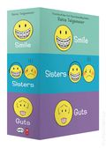 Smile/Sisters/Guts GN Box Set (2019 Scholastic) By Raina Telgemeier SET