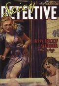 Spicy Detective Stories Kiss-Proof Murder SC (2007 Adventure House) August 1939 Replica Edition 1-1ST