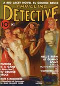 Thrilling Detective Pulp Replica (2009 Adventure House) Oct 1937