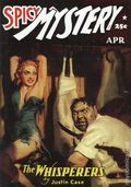 Spicy Mystery Stories The Whisperers SC (2005 Adventure House) April 1942 Replica Edition 1-1ST
